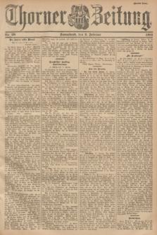Thorner Zeitung. 1901, Nr. 28 (2 Februar) - Zweites Blatt