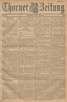 Thorner Zeitung. 1901, Nr. 34 (9 Februar) - Zweites Blatt
