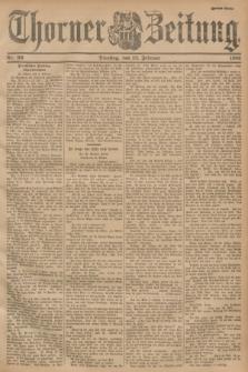 Thorner Zeitung. 1901, Nr. 36 (12 Februar) - Zweites Blatt