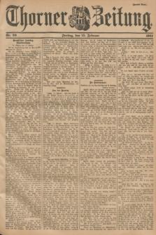 Thorner Zeitung. 1901, Nr. 39 (15 Februar) - Zweites Blatt