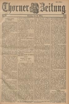 Thorner Zeitung. 1901, Nr. 77 (31 März) - Zweites Blatt