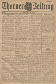 Thorner Zeitung. 1901, Nr. 85 (12 April) - Zweites Blatt