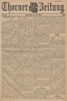 Thorner Zeitung. 1901, Nr. 96 (25 April) - Zweites Blatt