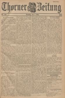 Thorner Zeitung. 1901, Nr. 106 (7 Mai) - Zweites Blatt