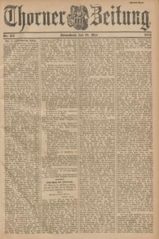 Thorner Zeitung. 1901, Nr. 115 (18 Mai) - Zweites Blatt