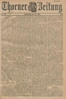 Thorner Zeitung. 1901, Nr. 124 (30 Mai) - Zweites Blatt