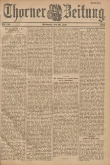Thorner Zeitung. 1901, Nr. 141 (19 Juni) - Zweites Blatt