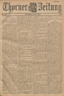 Thorner Zeitung. 1901, Nr. 142 (20 Juni) - Zweites Blatt