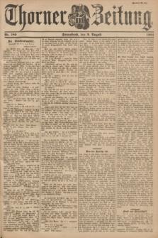 Thorner Zeitung. 1901, Nr. 180 (3 August) - Zweites Blatt