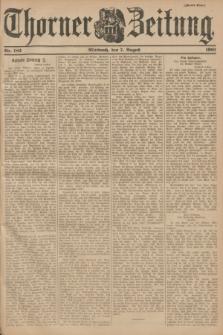 Thorner Zeitung. 1901, Nr. 183 (7 August) - Zweites Blatt
