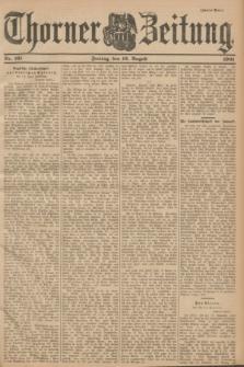 Thorner Zeitung. 1901, Nr. 191 (16 August) - Zweites Blatt
