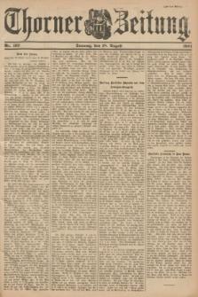 Thorner Zeitung. 1901, Nr. 193 (18 August) - Zweites Blatt