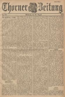 Thorner Zeitung. 1901, Nr. 201 (28 August) - Zweites Blatt