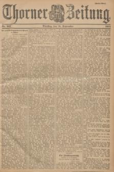 Thorner Zeitung. 1901, Nr. 212 (10 September) - Zweites Blatt