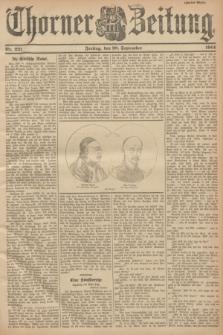 Thorner Zeitung. 1901, Nr. 221 (20 September) - Zweites Blatt