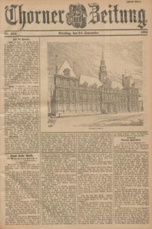 Thorner Zeitung. 1901, Nr. 224 (24 September) - Zweites Blatt