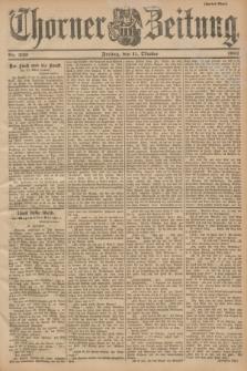 Thorner Zeitung. 1901, Nr. 239 (11 Oktober) - Zweites Blatt
