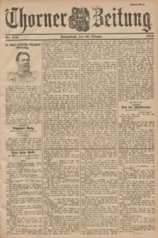 Thorner Zeitung. 1901, Nr. 246 (19 Oktober) - Zweites Blatt