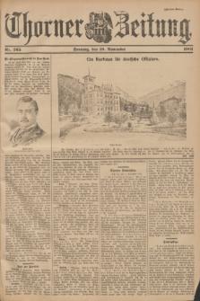 Thorner Zeitung. 1901, Nr. 265 (10 November) - Zweites Blatt