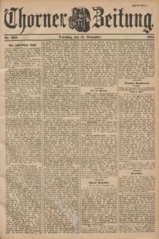 Thorner Zeitung. 1901, Nr. 266 (12 November) - Zweites Blatt