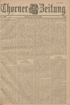 Thorner Zeitung. 1901, Nr. 269 (15 November) - Zweites Blatt