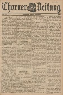 Thorner Zeitung. 1901, Nr. 275 (23 November) - Zweites Blatt
