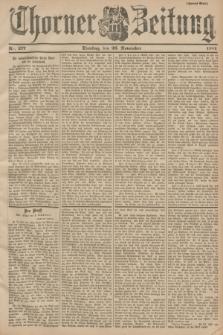 Thorner Zeitung. 1901, Nr. 277 (26 November) - Zweites Blatt