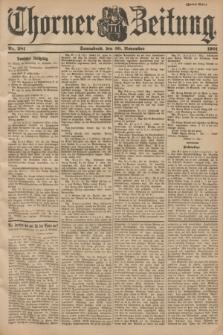 Thorner Zeitung. 1901, Nr. 281 (30 November) - Zweites Blatt