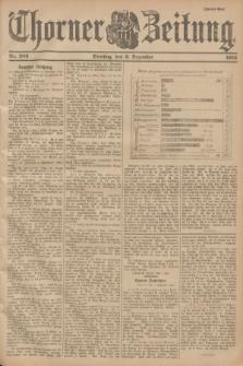 Thorner Zeitung. 1901, Nr. 283 (3 Dezember) - Zweites Blatt