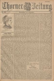Thorner Zeitung. 1901, Nr. 285 (5 Dezember) - Zweites Blatt
