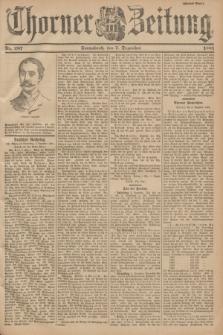 Thorner Zeitung. 1901, Nr. 287 (7 Dezember) - Zweites Blatt