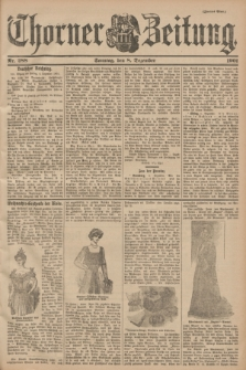 Thorner Zeitung. 1901, Nr. 288 (8 Dezember) - Zweites Blatt