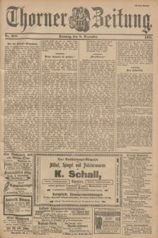 Thorner Zeitung. 1901, Nr. 288 (8 Dezember) - Drittes Blatt