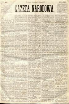 Gazeta Narodowa. 1874, nr13