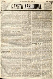 Gazeta Narodowa. 1874, nr17