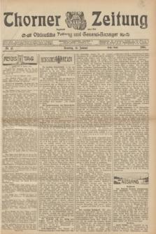 Thorner Zeitung : Ostdeutsche Zeitung und General-Anzeiger. 1905, Nr. 13 (15 Januar) - Erstes Blatt