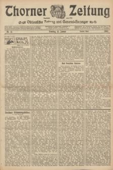 Thorner Zeitung : Ostdeutsche Zeitung und General-Anzeiger. 1905, Nr. 13 (15 Januar) - Zweites Blatt + dod.