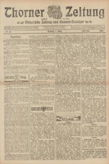 Thorner Zeitung : Ostdeutsche Zeitung und General-Anzeiger. 1905, Nr. 55 (5 März) - Erstes Blatt