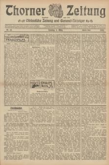 Thorner Zeitung : Ostdeutsche Zeitung und General-Anzeiger. 1905, Nr. 55 (5 März) - Zweites Blatt