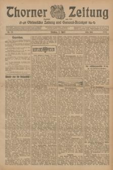 Thorner Zeitung : Ostdeutsche Zeitung und General-Anzeiger. 1905, Nr. 79 (2 April)