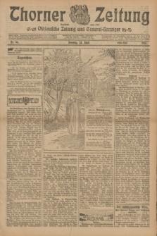 Thorner Zeitung : Ostdeutsche Zeitung und General-Anzeiger. 1905, Nr. 96 (23 April) - Erstes Blatt