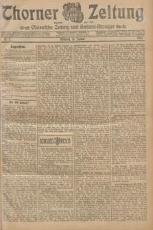 Thorner Zeitung : Ostdeutsche Zeitung und General-Anzeiger. 1906, Nr. 7 (10 Januar) + dod.