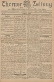Thorner Zeitung : Ostdeutsche Zeitung und General-Anzeiger. 1906, Nr. 12 (16 Januar) + dod.