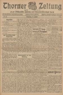 Thorner Zeitung : Ostdeutsche Zeitung und General-Anzeiger. 1906, Nr. 14 (18 Januar) + dod.