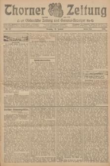 Thorner Zeitung : Ostdeutsche Zeitung und General-Anzeiger. 1906, Nr. 17 (21 Januar) - Zweites Blatt