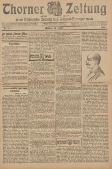 Thorner Zeitung : Ostdeutsche Zeitung und General-Anzeiger. 1906, Nr. 19 (24 Januar) + dod.