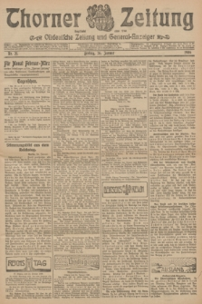 Thorner Zeitung : Ostdeutsche Zeitung und General-Anzeiger. 1906, Nr. 21 (26 Januar) + dod.