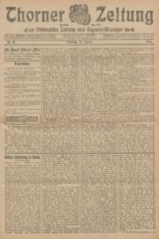 Thorner Zeitung : Ostdeutsche Zeitung und General-Anzeiger. 1906, Nr. 24 (30 Januar) + dod.