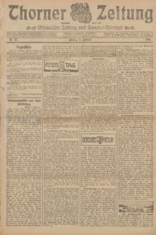 Thorner Zeitung : Ostdeutsche Zeitung und General-Anzeiger. 1906, Nr. 33 (9 Februar) + dod.