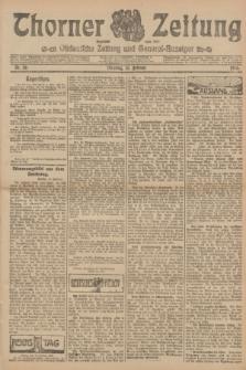 Thorner Zeitung : Ostdeutsche Zeitung und General-Anzeiger. 1906, Nr. 36 (13 Februar) + dod.
